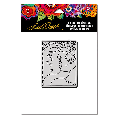 Stampendous - Cling Mounted Rubber Stamps - Kiss