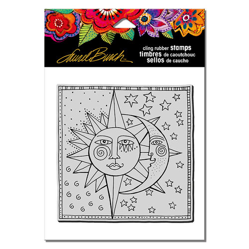 Stampendous - Cling Mounted Rubber Stamps - Celestial