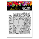 Stampendous - Cling Mounted Rubber Stamps - Soul Tears