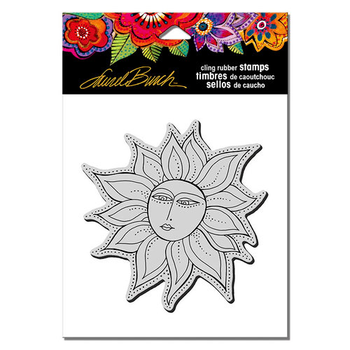 Stampendous - Cling Mounted Rubber Stamps - Sister Sun