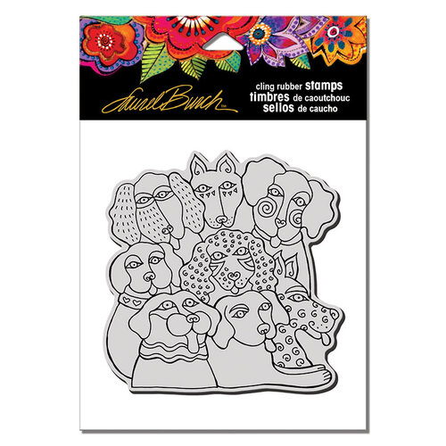 Stampendous - Cling Mounted Rubber Stamps - Canine Clan