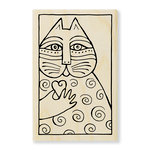 Stampendous - Wood Mounted Stamps - Cat Love