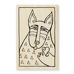 Stampendous - Wood Mounted Stamps - Dog Love