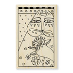 Stampendous - Wood Mounted Stamps - Sentimental Feline