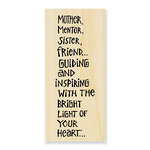 Stampendous - Wood Mounted Stamps - Inspiring Light