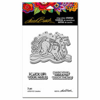 Stampendous - Cling Mounted Rubber Stamps - Caballos