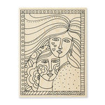 Stampendous - Wood Mounted Stamps - Friendship
