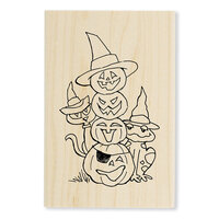 Stampendous - Halloween - Wood Mounted Stamps - Jack Stack