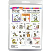 Stampendous - Clear Acrylic Stamps - House Mouse Mini Clear Stamp Set