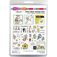 Stampendous - Clear Acrylic Stamps - Fran's Mini Clear Stamp Set