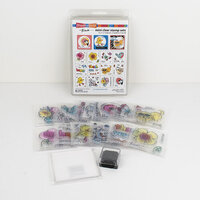Stampendous - Clear Acrylic Stamps - Fran's Mini Clear Set- Whimsical