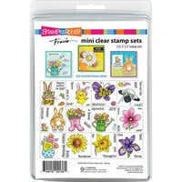 Stampendous - Clear Photopolymer Stamps - Fran's Mini Set - Spring