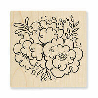 Stampendous - Wood Mounted Stamps - Blossom Trio
