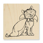 Stampendous - Halloween - Wood Mounted Stamps - Count Catula