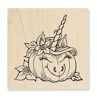 Stampendous - Halloween - Wood Mounted Stamps - Punicorn