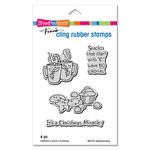 Stampendous - Christmas - Cling Mounted Rubber Stamps - Cookie Christmas