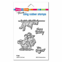 Stampendous - Cling Mounted Rubber Stamps - Old Goat