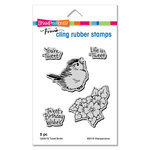 Stampendous - Cling Mounted Rubber Stamps - Tweet Birdie