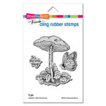 Stampendous - Cling Mounted Rubber Stamps - Little Mushroom