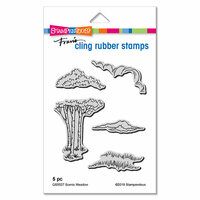 Stampendous - Cling Mounted Rubber Stamps - Scenic Meadow