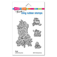 Stampendous - Cling Mounted Rubber Stamps - Daisy Bee