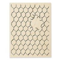 Stampendous - Wood Mounted Stamps - Chicken Wire