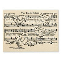 Stampendous - Wood Mounted Stamps - Birds Return