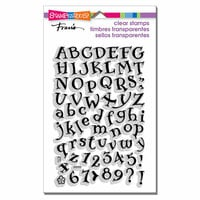 Stampendous - Clear Photopolymer Stamps - Storybook Alphabet
