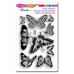 Stampendous - Clear Acrylic Stamps - Butterflies