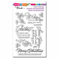 Stampendous - Clear Photopolymer Stamps - Christmas Wishes