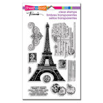 Stampendous - Clear Acrylic Stamps - Eiffel Tower