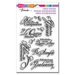 Stampendous - Clear Acrylic Stamps - Spanish Greetings