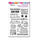 Stampendous - Clear Acrylic Stamps - Dog Sayings