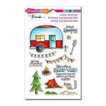 Stampendous - Clear Acrylic Stamps - Campground