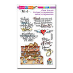 Stampendous - Clear Acrylic Stamps - Travel Home