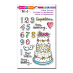 Stampendous - Clear Acrylic Stamps - Cake Tiers