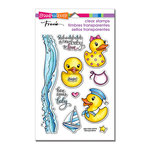 Stampendous - Clear Acrylic Stamps - Rubber Duckies