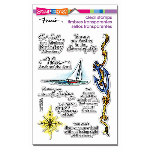 Stampendous - Clear Photopolymer Stamps - Nautical Anchor