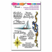 Stampendous - Clear Acrylic Stamps - Nautical Anchor
