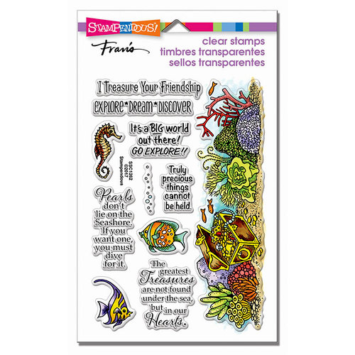 Stampendous - Clear Photopolymer Stamps - Nautical Treasure