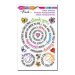 Stampendous - Clear Acrylic Stamps - Circular Messages
