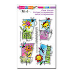 Stampendous - Clear Acrylic Stamps - Window Messages