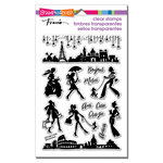 Stampendous - Clear Acrylic Stamps - Sassy Travel