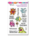 Stampendous - Halloween - Clear Acrylic Stamps - Little Monsters