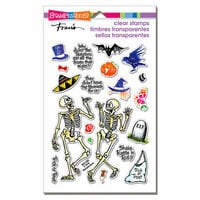 Stampendous - Halloween - Clear Photopolymer Stamps - Skeleton Humor