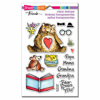 Stampendous - Clear Photopolymer Stamps - Honey Bears