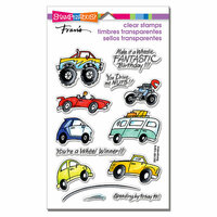 Stampendous - Clear Acrylic Stamps - Wheels