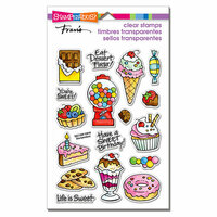 Stampendous - Clear Photopolymer Stamps - Sweet Treats