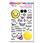 Stampendous - Clear Acrylic Stamps - Emojis