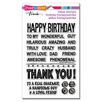 Stampendous - Clear Acrylic Stamps - Wonderful Guy